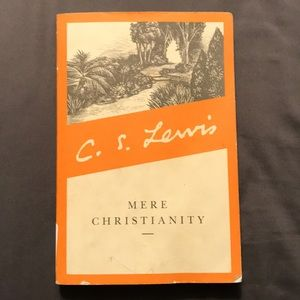 Used C.S. Lewis Mere Christianity book